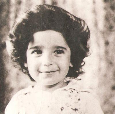 סבתא שלי כשהיא הייתה ילדה
